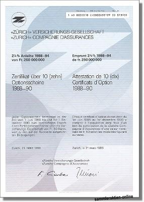 Zürich Versicherungs-Gesellschaft
