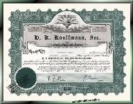 H. K. Kaufmann Inc.