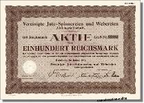 Vereinigte Jute-Spinnereien und Webereien AG