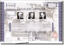 DaimlerChrysler AG - Musterdruck