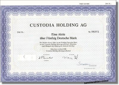 Custodia Holding AG
