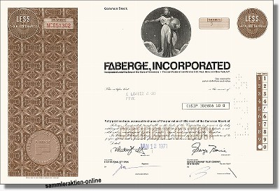 Faberge Incorporated