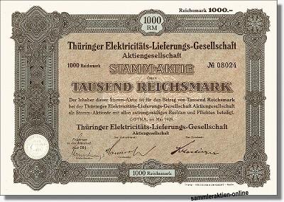 Thüringer Elektricitäts-Lieferungs-Gesellschaft AG