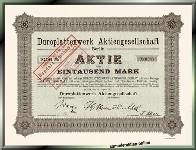 Duroplattenwerk AG