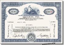 Shulton Inc.
