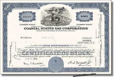 Coastal States Gas Corporation