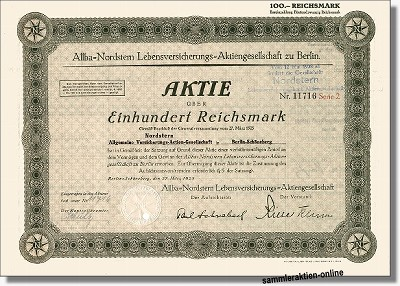 Allba-Nordstern Lebensversicherungs-AG