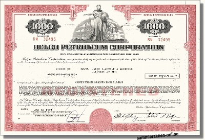 Belco Petroleum Corporation, später Enron