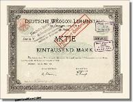 Deutsche Waggon-Leihanstalt - VTG-Lehnkering
