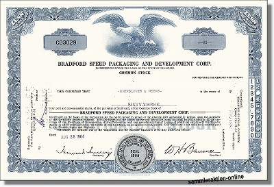 Bradford Speed Packaging Development Corp.