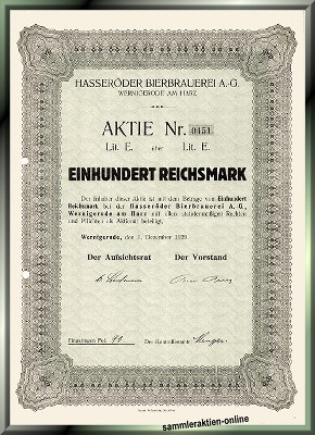 Hasseröder Bierbrauerei AG