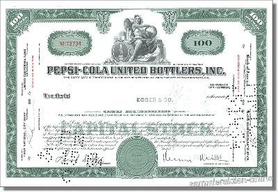 Pepsi-Cola United Bottlers Inc.