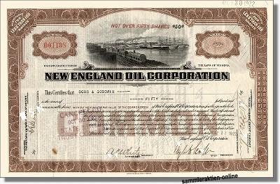 New England Oil Corporation