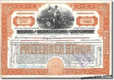 Mahoning and Shenango Railway and Light Company