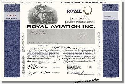 Royal Aviation Inc.