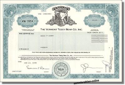 The Vermont Teddy Bear Co.