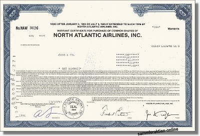 North Atlantic Airlines Inc.