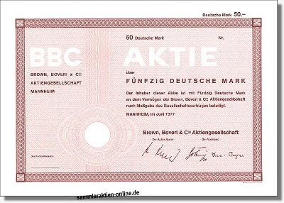 BBC Brown Boveri & Cie