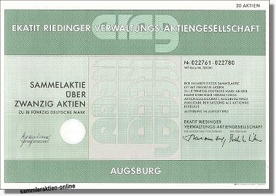 Ekatit Riedinger Verwaltungs-Aktiengesellschaft