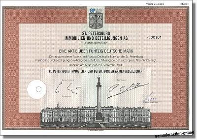 St. Petersburg Immobilien- und Beteiligungen AG