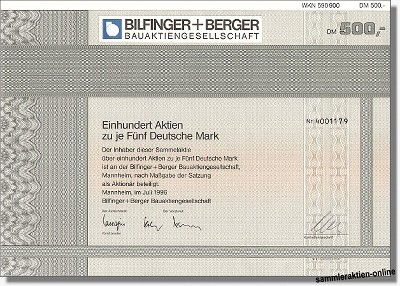 Bilfinger+Berger AG