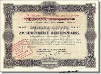 J. Neumann AG, Gildemann Cigarrenfabriken AG
