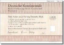 Deutsche Kontinentale Rückversicherungs-Actien-Gesellschaft