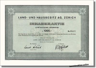 Land- und Hausbesitz AG