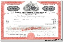 Cenco Instruments Corporation