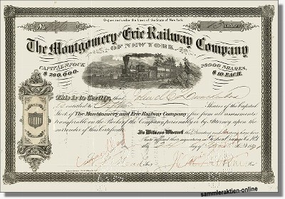 Montgomery and Erie Railway Company