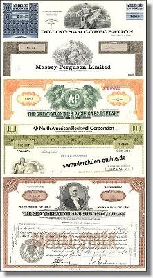 Geschenkset Wirtschaft und Industrie - USA Nr.05 - 5 div. Papiere