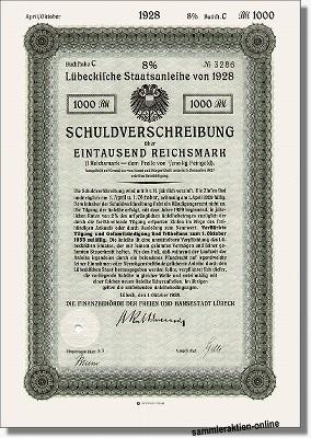 Lübeckische Staatsanleihe
