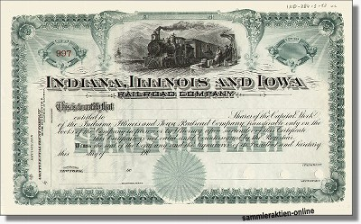Indiana, Illinois and Iowa Railroad Company