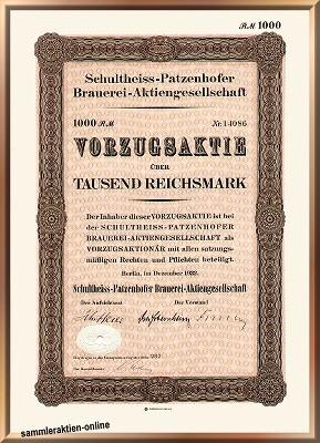 Schultheiss-Patzenhofer Brauerei AG