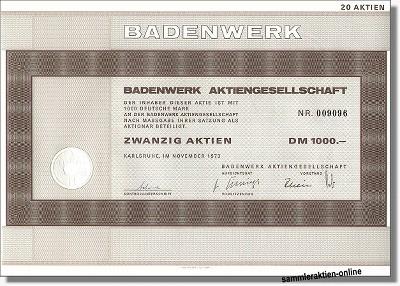 Badenwerk Aktiengesellschaft