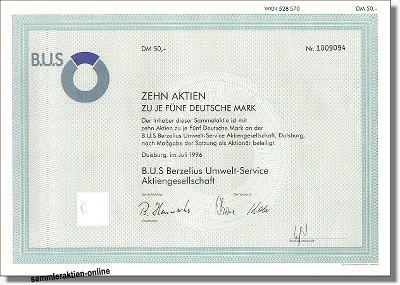 B.U.S Berzelius Umwelt Service