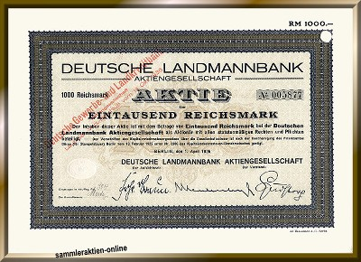 Deutsche Landmannbank - DZ Bank - DG Bank