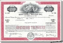 Honeywell Finance Inc.