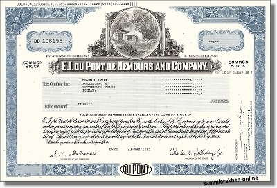 E.I. Du Pont de Nemours & Company