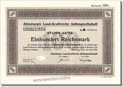 Altenburger Land-Kraftwerke AG