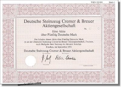 Deutsche Steinzeug Cremer & Breuer