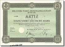Deutsche Werft Aktiengesellschaft