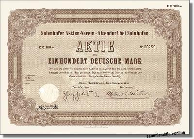 Solenhofer Aktien-Verein
