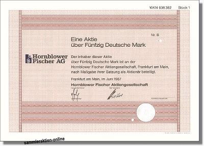 Hornblower Fischer AG