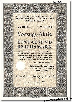 Reichswerke Hermann Göhring AG für Erzbergbau und Eisenhütten