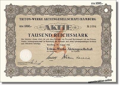Triton-Werke AG