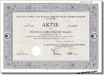 Allgemeine Gold- und Silberscheideanstalt - AGOSI