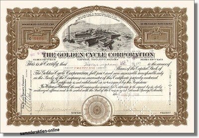 Golden Cycle Corporation
