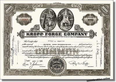 Kropp Forge Company