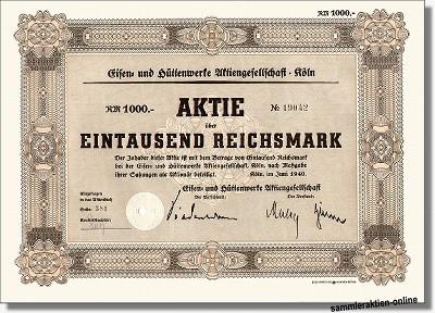 Eisen- und Hüttenwerke Aktiengesellschaft